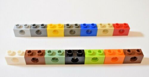 Lego 3700 Technic Brick 1x2 with Hole Select Colour Pack of 30