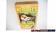 Hercules vs The Sons Of The Sun VHS Mark Forest TESTED! free shipping