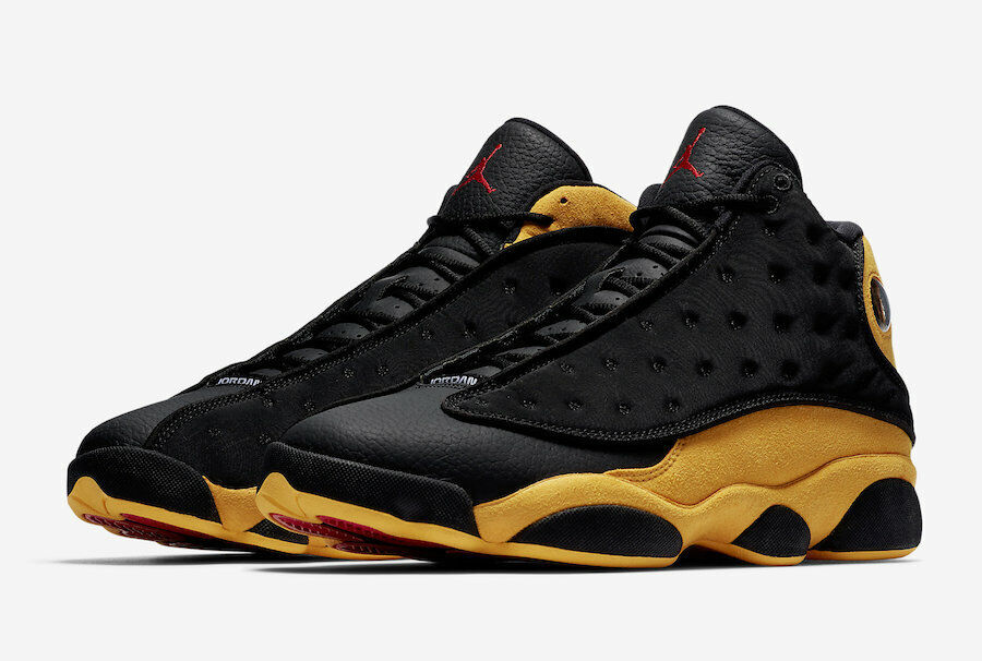 NIKE AIR JORDAN 13 RETRO BLACK UNIVERSITY RED [414571-035] US MEN SZ 8.5