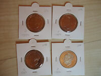 10x 2 DM Heuss 1973 DG 1974 D 1977 D 1979 G 1980 D 1981 G 1982 DFJ bankfrisch