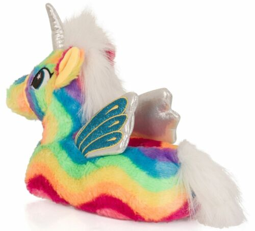 Girls Womens Rainbow Unicorn Matching Mother /& Daughter Slippers Loungewear
