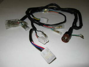 Details about Honda CT70 Wire Harness K3-76' 1974'-1976' on honda nc50 wiring harness, honda sl70 wiring harness, honda key, honda cb550 wiring harness, honda s90 wiring harness, scooter brake electrical harness, honda sl125 wiring-diagram, honda ruckus wiring-diagram 03, honda cb750 wiring harness, honda ct90 wiring harness, honda ruckus gy6 wiring-diagram, honda ruckus wiring switch, honda crf450x wiring harness,