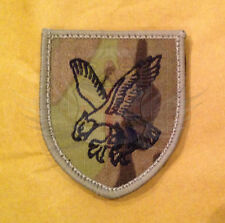 16th AIR ASSAULT RIPSTOP MULTICAM EAGLE SHIELD PATCH,VELCRO® BRAND,ZAP,IFF,TRADE