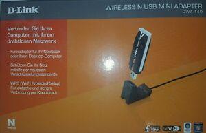 D-Link Wireless N DUALBAND USB Mini Adapter NEU OVP - Deutschland - D-Link Wireless N DUALBAND USB Mini Adapter NEU OVP - Deutschland