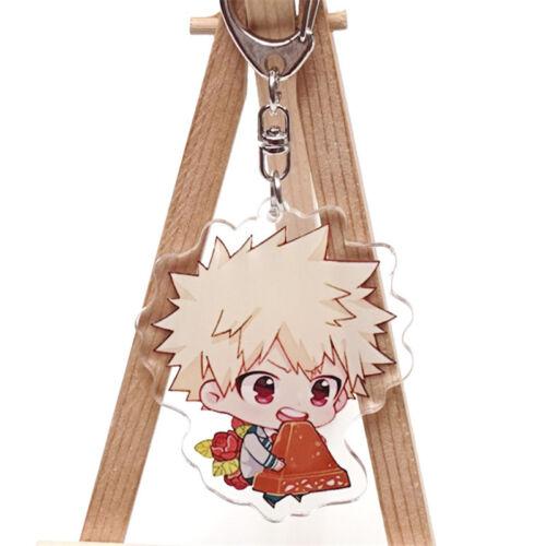 Boku No Hero Academia bakugou Katsuki Mignon Acrylique Stand charme Badge Décoration