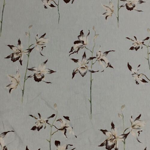 SANDERSON CURTAIN UPHOLSTERY FABRIC POLLINIA 3 METRES Way De Nil 100/% Cotton