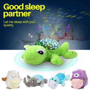 Animal Night Light Star Sky Projection Lamp Musical Led
