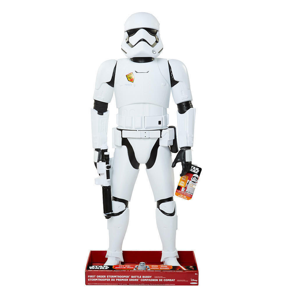 STAR WARS THE FORCE AWAKENS 4FT GIANT SIZE STORMTROOPER BATTLE BUDDY FIGURE  new