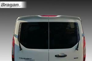 To-Fit-2014-Ford-Transit-Tourneo-Connect-Rear-Roof-Spoiler-PU-Twin-Barn-Door