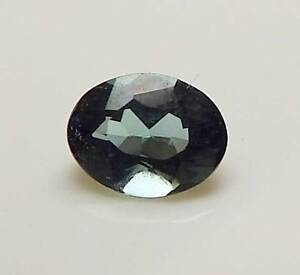 .58 CT OVAL SHAPED LOOSE FACETED NATURAL BLUE INDICOLITE TOURMALINE (IND5-35)