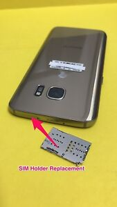 Details About Repair Service For Samsung Galaxy S7 Edge Sm G935t Sim Tray Slot Replacement