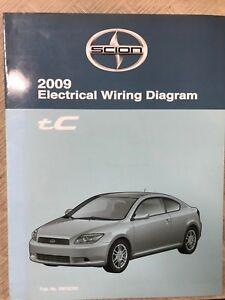 2009 Toyota Scion Tc Tc Electrical Wiring Diagram Manual Oem Factory 09 Ebay