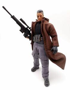 No Figure M Size Black Hooded Coat for Mezco Punisher