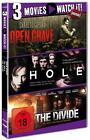 3 Movies - watch it: Open Grave / The Hole / The Divide (2015)