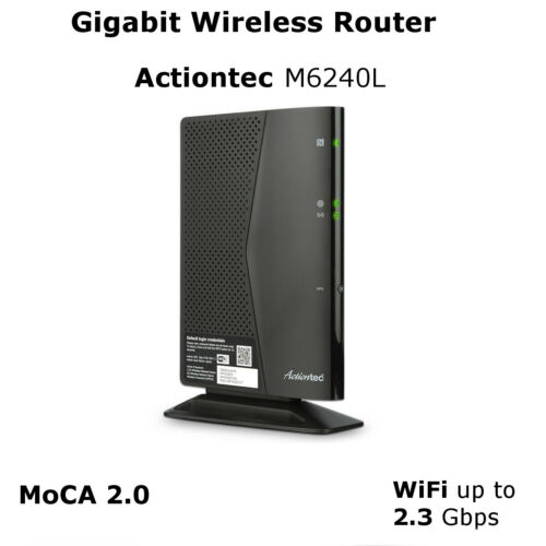 Actiontec Wireless Router Wifi Gigabit Ethernet with MoCA 2  Comcast Cox Other