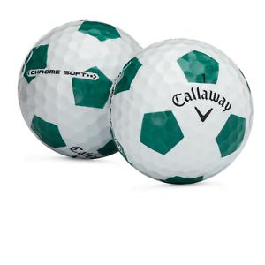 24-Callaway-Chrome-Soft-truvis-vert-blanc-AAAAA-5-A-utilise-des-balles-de-golf