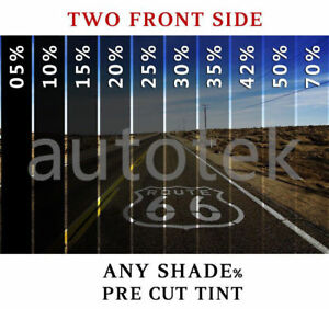 PreCut Film Front Door Windows Any Tint Shade VLT for BMW Glass