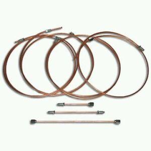 COPPER brake pipe sets VW Scirocco Mk2