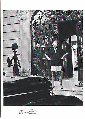 "Postcard Art Pablo Picasso /""La Californie/"" Cannes 1956 Kunstkarte"