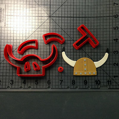 Viking Helmet 101 Cookie Cutter Set