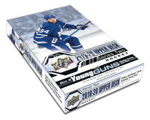 2019-20-UPPER-DECK-SERIES-2-HOCKEY-HOBBY-BOX-NEW-SEALED