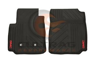 b3b031b56e 2015-2019 Canyon GM Front Premium All Weather Floor Mats Black GMC ...