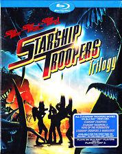 Starship Troopers Trilogy: 1 2 3 Hero Federation/Marauder (Blu Ray) NEW & Sealed