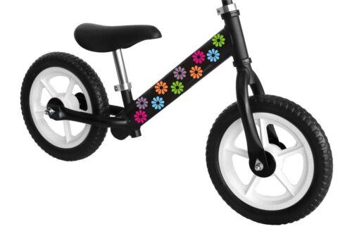 SET OF 20 DAISY FLOWER STICKERS car bike skateboard retro colors decal