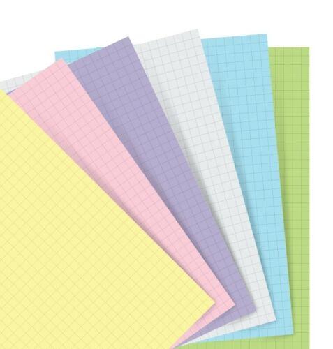 Persönlich Pastell Kariert Papier Filofax