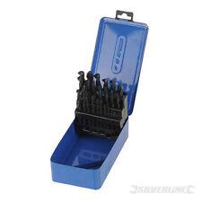 Cassette 25 mèches foret acier rapide HSS de 1-13 mm pour métal, plastique, bois