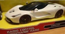 New Maisto 1/14 R/C Ferrari LaFerrari White Rare Remote Control