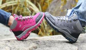 Women's High Top Shoes Lace Up Outdoor