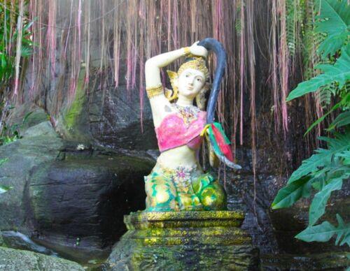 Statue Phra Mother Earth rid of evil spirits prevent black magic Thai Amulet