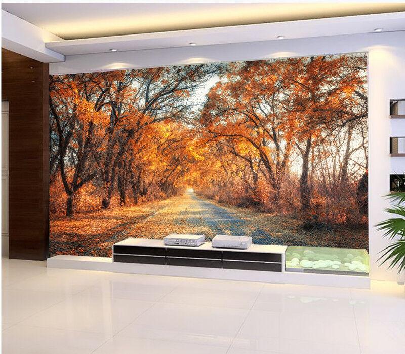 3D Autumn Woods 888 Wall Paper Murals Wall Print Wall Wallpaper Mural AU Summer