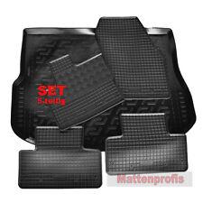 Gummimatten + PE Kofferraumwanne Set für Land Rover Range Rover Evoque ab 6/2011