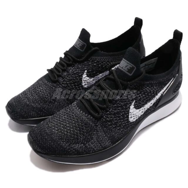 online retailer a708c 06b26 Nike Wmns Air Zoom Mariah FK Racer Flyknit Black Women Running Shoes  AA0521-006