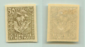 Lithuania, 1921, SC 102a, mint, imperf. rt8467