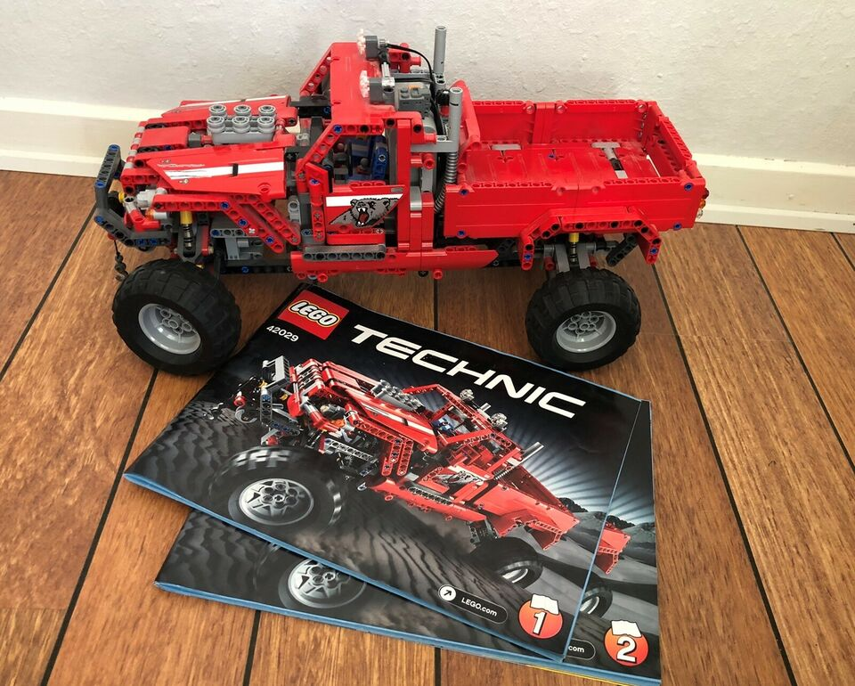 Lego Technic, 42029 + 8293