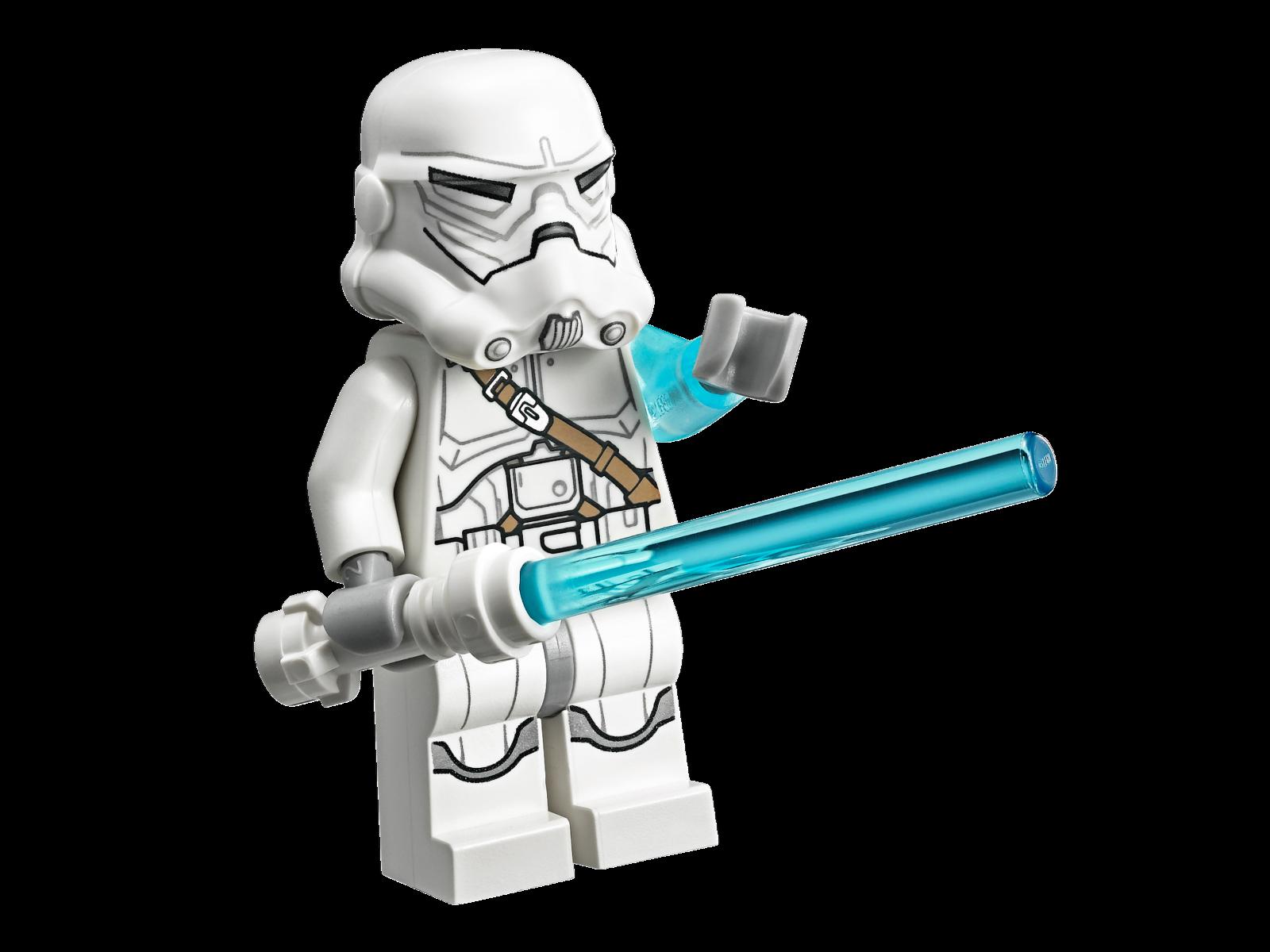 LEGO Jek-14 Star Wars minifigure COMPLETE White lightsaber, helmet, hair-piece, /& lightning