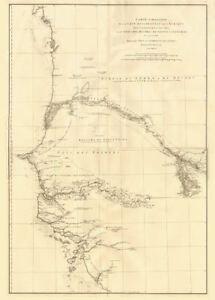 Senegal On Africa Map.Cote Occidentale De L Afrique W Africa Senegal Gambia Rivers D
