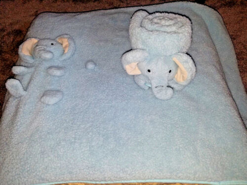 My Pet Blankie Elliot the Elephant Plush Blanket Throw for Baby and Toddlers