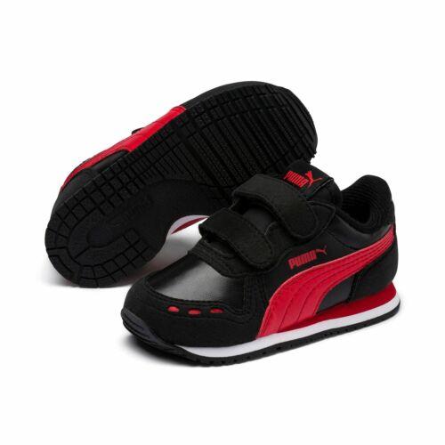 Puma Cabana Racer SL V PS Kinder Schuhe Sneaker 360732 Puma Black Red