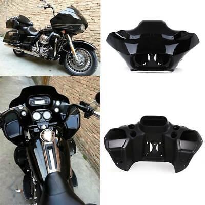 Vivid Black ABS Injection Inner /& Outer Fairing for Harley Road Glide FLTR 98-13