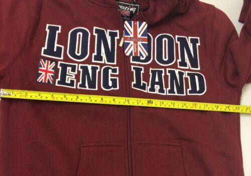 Zipper cappuccio Xl con taglia 105 E £ London Amazing Scatola 39 99 Felpa Rrp Felpa FSqc05tIw