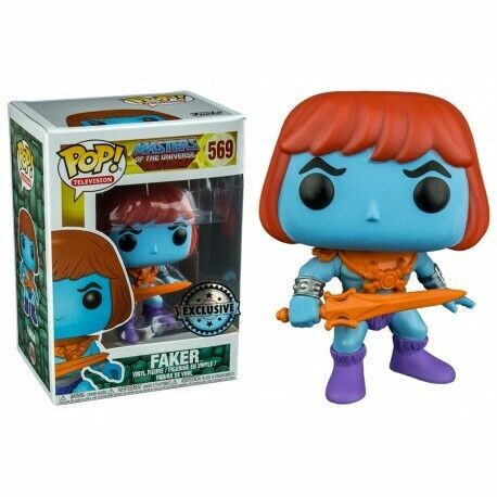 Funko Pop Television 569 Masters Universe MUTU 22502 Faker Exclusive