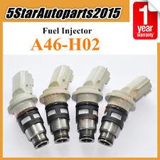 GA A46-H02 4 Pieces Fuel Injectors Nozzle Fit Nissan March 1992-2003 93 94 95 96