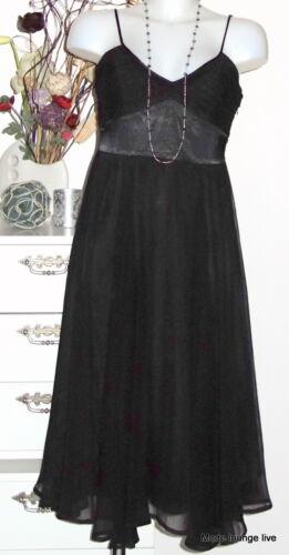 38 Ccdk Leveriing Nero Vestito Lungo M Kjole Dress Copenhagen Monica OqOrUX