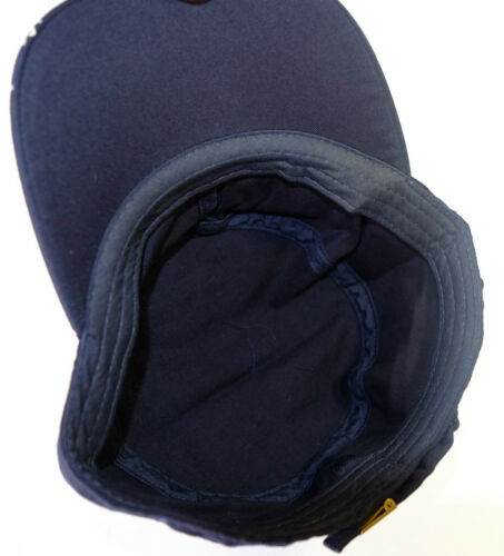 NEW MILITARY STYLE BUCKLE BACK CAPS 2 COLOURS Dark Blue or Green 52cm