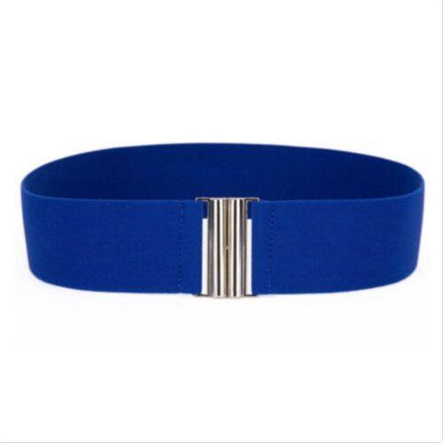 Elegant Belts Cinch Buckle Waist New Fashion Waistband Stretch Corset Elastic