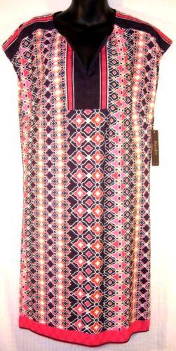 Rosa Laundry 138 abito stampa tunica geometrica multi piccolo Anthropologie 5F8zqdww